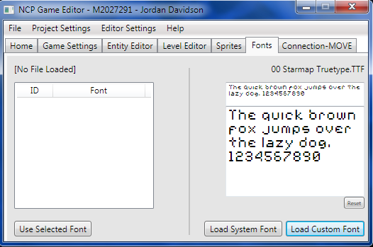 Game Editor using C# and WPF